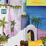 Bajas Edge Art Print