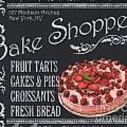 Bake Shoppe Art Print
