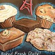 Baked Fresh Daily Art Print
