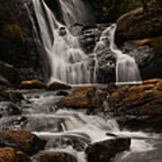 Bakers Fall. Horton Plains National Park. Sri Lanka Art Print