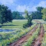 Bakers Ranch Road Art Print
