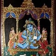 Balakrishna Art Print by Jayashree
