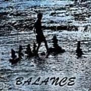 Balance And Zen Art Print