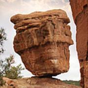 Balanced Rock Art Print