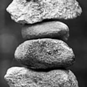 Balanced Rocks, Close-up Art Print