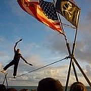 Balancing Act In Key West Art Print