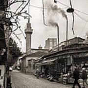 Balat Neighborhood In Istanbul Art Print