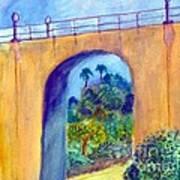 Balboa 163 Bridge Art Print