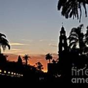 Balboa At Sunset  Art Print