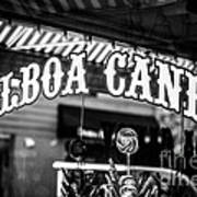 Balboa Candy Sign On Balboa Island Newport Beach Art Print
