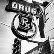 Balboa Pharmacy Drug Store Orange County Photo Art Print