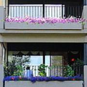 Balconies 4 Art Print