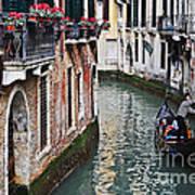 Balcony And The Gondola Art Print