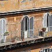 Balcony Art Print