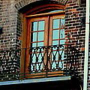 Balcony Doors Art Print