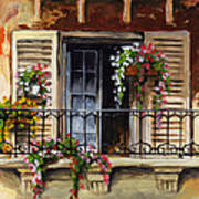 Balcony Of Ferrara Art Print