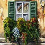 Balcony Of Napoly Art Print