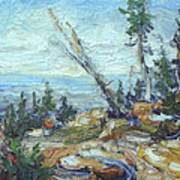 Bald Mountain Vista Art Print