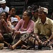 Bali Indonesia Proud People 3 Art Print
