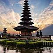 Bali Water Temple 2 Art Print
