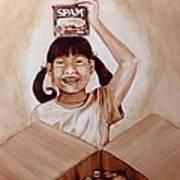 Balikbayan Box Art Print