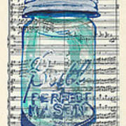 Ball Jar Classical  #132 Art Print