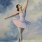 Ballerina 001 Art Print