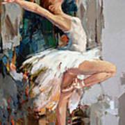 Ballerina 22 Art Print