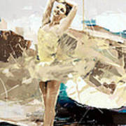 Ballerina 34 Art Print