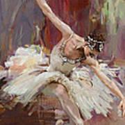 Ballerina 36 Art Print