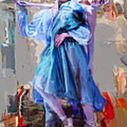 Ballerina 37 Art Print