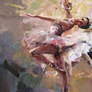 Ballerina 40 Art Print