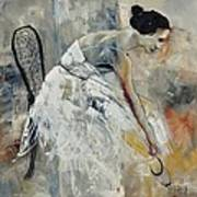 Ballerina 6631 Art Print