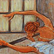 Ballerina II Art Print by Xueling Zou