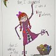 Ballerina Art Print by Mary Kay De Jesus