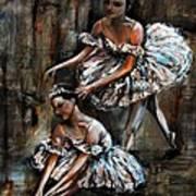 Ballerina Art Print by Nancy Bradley