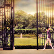 Ballet At The Vanderbilt Gate Art Print