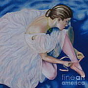 Ballet Dancer Art Print
