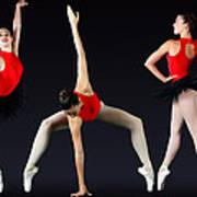 Ballet Dancer Art Print by Stephen Norris