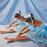 Ballet Dancers Art Print