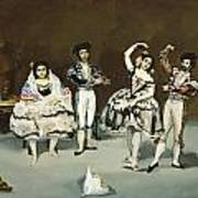 Ballet Espagnol Art Print