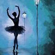 Ballet In The Night  Art Print by Corporate Art Task Force