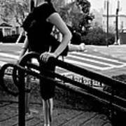 Ballet On Lombard Street Art Print