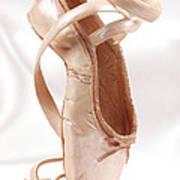 Ballet Shoe Art Print by Kitty Ellis