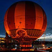 The Great Balloon Art Print