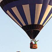 Balloon-2shotwave-7393 Art Print