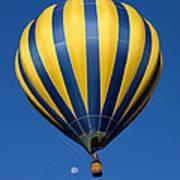 Balloon And The Moon Art Print