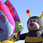 Balloon Bug Talk Art Print