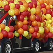 Balloon Car Art Print