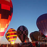 Balloon-glow-7783 Art Print